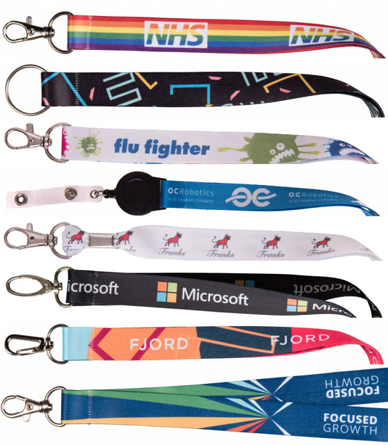UK Personalised Lanyards