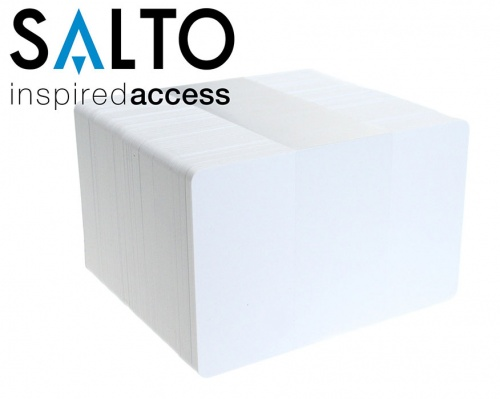 Salto PCM04KB-50 4K Blank Contactless Smartcards (Pack of 100)
