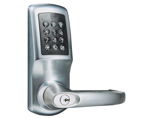 Codelocks CL5520 Smart Digital Lock With Mortice Lock and Cylinder