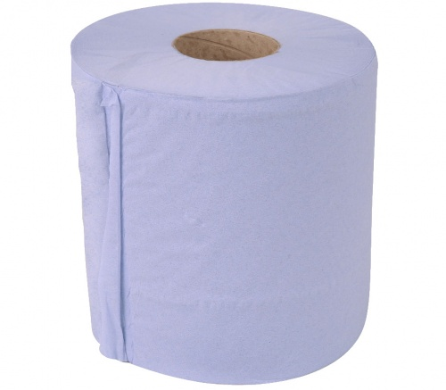 Asec 2 Ply Multipurpose Absorbent Blue Roll
