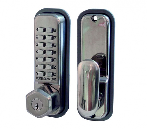 Codelocks CL255KO Series Digital Lock With Key Override