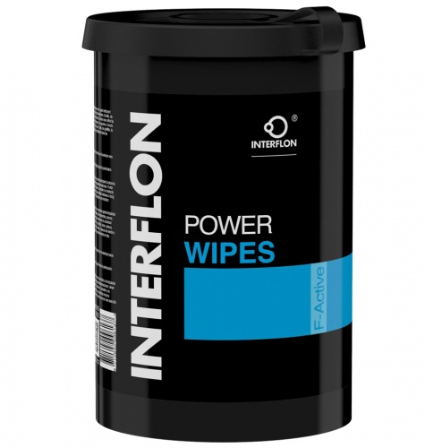 Interflon Power Wipes Cleaning Towels