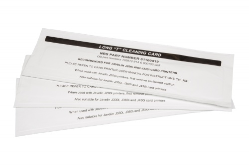 Javelin Long Cleaning Card x 100 cards