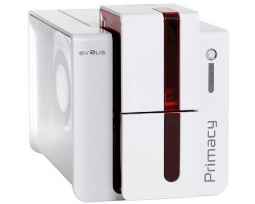 Evolis Primacy Dual Sided Plastic ID Card Printer - PM1H0000RD