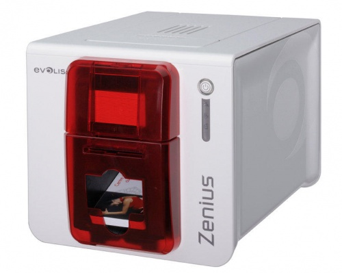 Evolis Zenius Single Sided Plastic ID Card Printer - ZN1U0000RS
