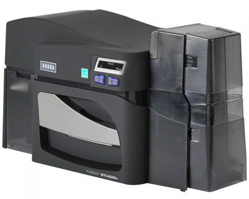 Fargo DTC4500e Dual-Sided Plastic ID Card Printer with USB Connectivity - 55100