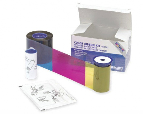 Datacard 534000-007 YMCKT-K Colour Ribbon Kit (375 Prints)