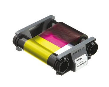 Evolis CBGR0100C Badgy 200 YMCKO Colour Ribbon (100 Prints)