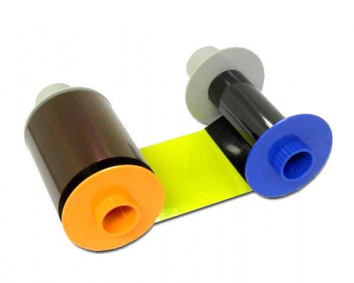 Fargo 84061 YMCFK Colour and Fluorescing Ribbon for HDP5000 (500 Prints)