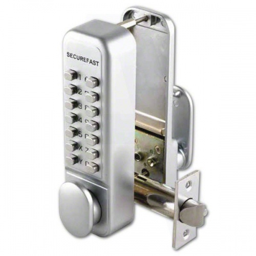 SBL320 Easy Change Digital Lock with Tubular Latch & Holdback