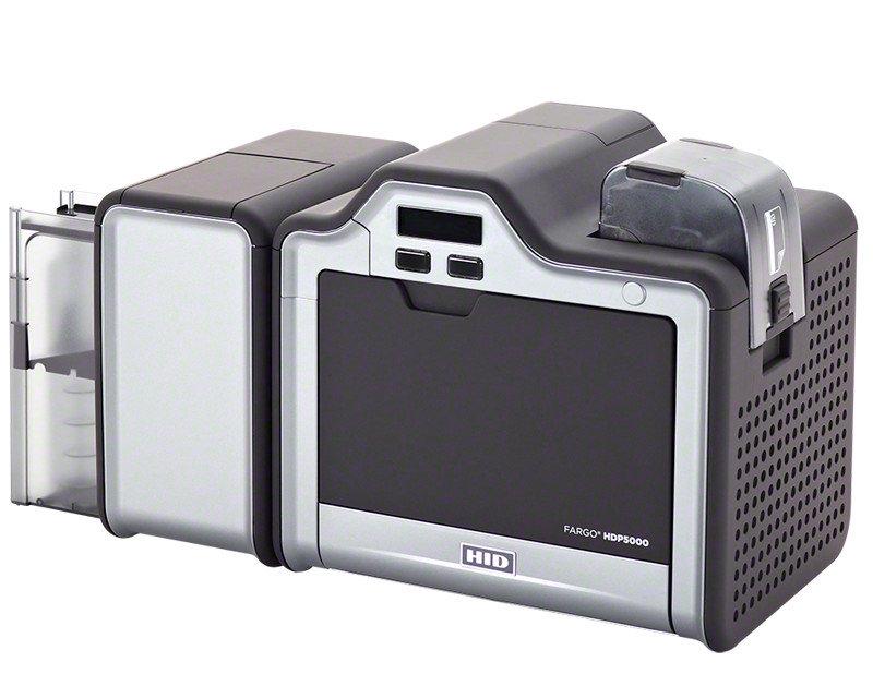 fargo hdp5000 mk2 retransfer plastic id card printer dual sided 089640 - Plastic Id Card Printer
