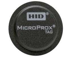HID 1391 MicroProx Tag Adhesive Proximity Disc (Pack of 100)
