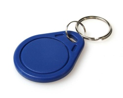 Blue MIFARE Classic EV1 1K KeyFobs (Pack of 100)
