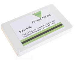 Paxton 692-448 Net 2 Proximity ISO Cards With Magstripe and Signature Panel (Pack of 10)