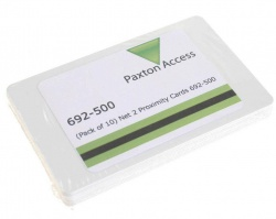 Paxton 692-500 Net 2 Proximity ISO Cards (Pack of 10)