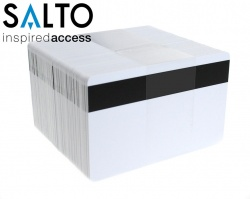 Salto PCM01KB50HI 1K Contactless Cards with 2750oe Hi-Co Magnetic Stripe (Pack of 100)
