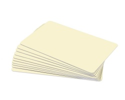 Cream Premium Plastic Cards - 760 Micron (Pack of 100)