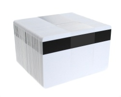 Dyestar Blank White 760 Micron PVC Cards with Hi-Co Magnetic Stripe (Pack of 100)