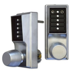 Kaba EE1021B Back To Back Digital Lock With Key Override On Both Sides - No Cylinder