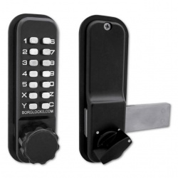 Borg Locks BL2605 Marine Grade Pro Digital Rim Deadbolt Lock