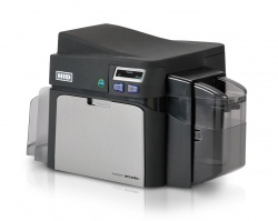Fargo DTC4250e Single-Sided Plastic ID Card Printer with USB and Ethernet - 52000