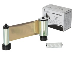IDP Smart 30/50 Mono 650682 Metallic Gold Ribbon (1200 Prints)