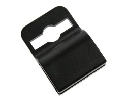 Black Gripper ID Card Clips for 760 Micron Cards (Pack of 100)